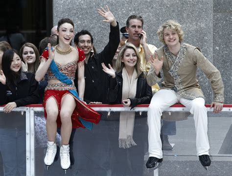 Who is Charlie White dating? Hint, not his on-ice partner
