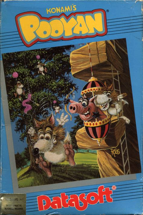 Pooyan for Apple II (1984) - MobyGames