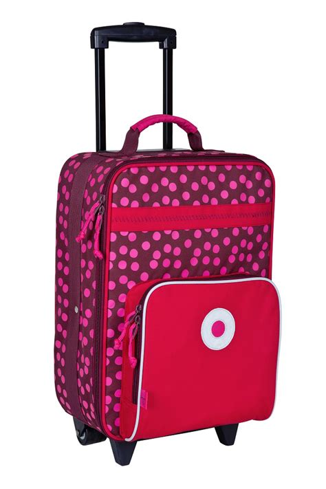 Lässig Kinderkoffer Trolley 2016 Dottie Red online kaufen
