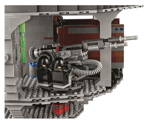 The LEGO 75159 Death Star is almost a carbon copy of its