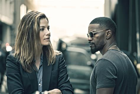Jamie Foxx & Michelle Monaghan Are 'Sleepless' In The