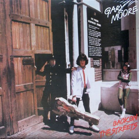Gary Moore - Back On The Streets (1978, Vinyl) | Discogs