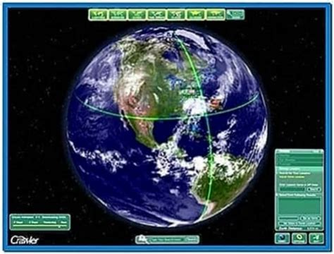 Earth screensaver watch realistic animated - Download free