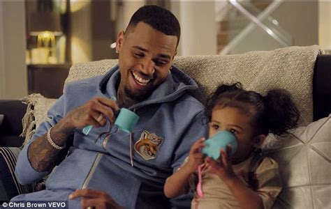 Chris Brown's daughter Royalty stars in his new music
