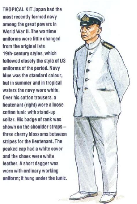 The Japanese Uniforms, 1941-1942