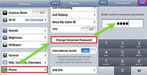 Manual: How to Reset Voicemail Password on iPhone AT & T