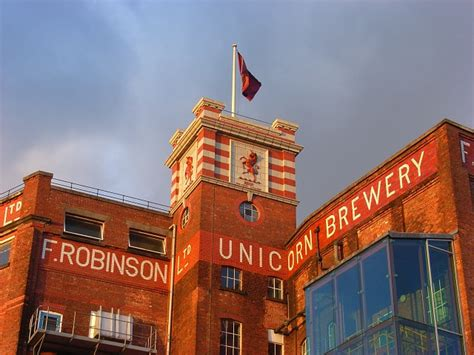 Robinsons Family Brewers in Stockport bei Manchester