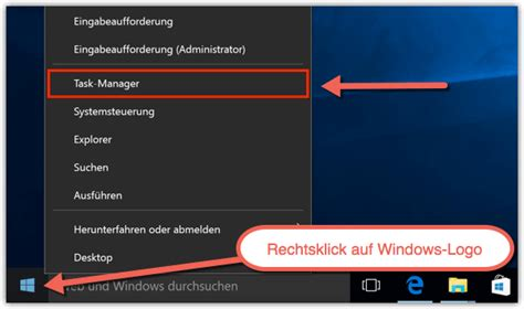 Windows 10: Task-Manager öffnen - TechFrage