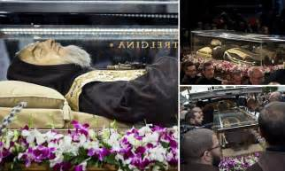 Padre Pio returns to the Vatican nearly 50 years after his