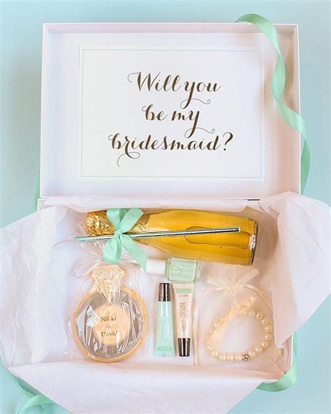 Ask your best girlfriends to be your bridesmaids with a