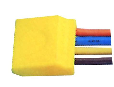 PUSH-IN 4 WAY WIRE CONNECTORS YELLOW /5 – ACDC Dynamics Online