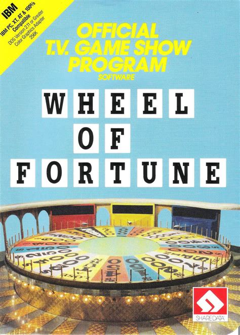 Wheel of Fortune for DOS (1987) - MobyGames