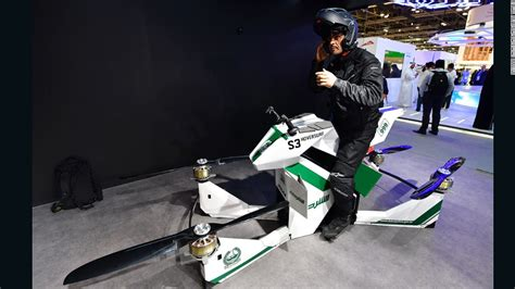 Flying motorbike joins Dubai Police's list of extreme