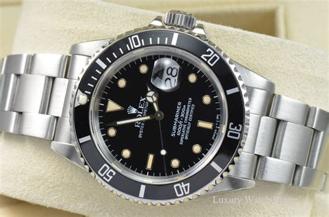 1989 Mens Rolex Submariner Date Stainless Steel Automatic