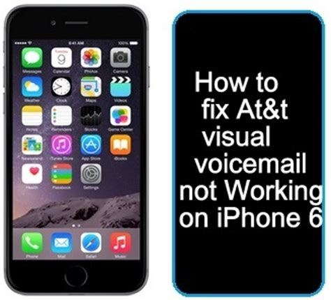 [Solved] At&t Visual Voicemail not working iPhone XS Max