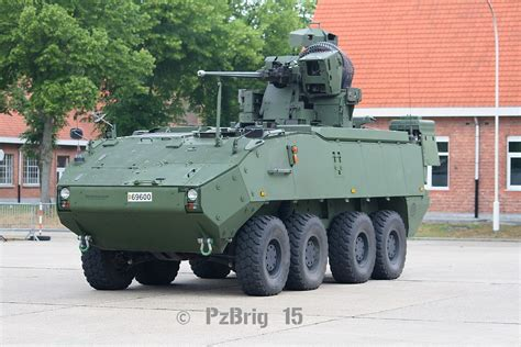 IFV Piranha IIIC 30 mm | Infantry Fighting Vehicle Belgian