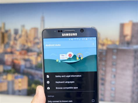 The Samsung Galaxy Note 5 and Android Auto | Android Central