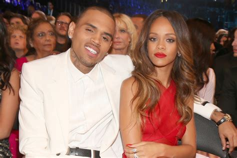 Chris Brown 'likes to compare himself' with Rihanna's