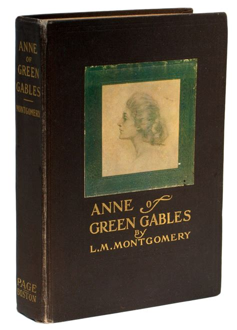 Anne of Green Gables First Edition   Raptis Rare Books