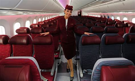 Qatar Airways cabin crew | Qatar airways cabin crew, Qatar