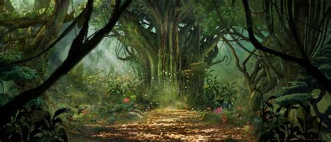 In to the Jungle - Concept Art on Behance