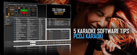 5 Karaoke Software Tips - PCDJ Karaoki | PCDJ
